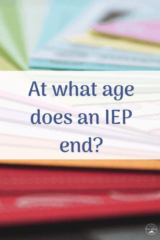 maximum IEP age