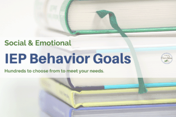 measurable behavior goals IEP