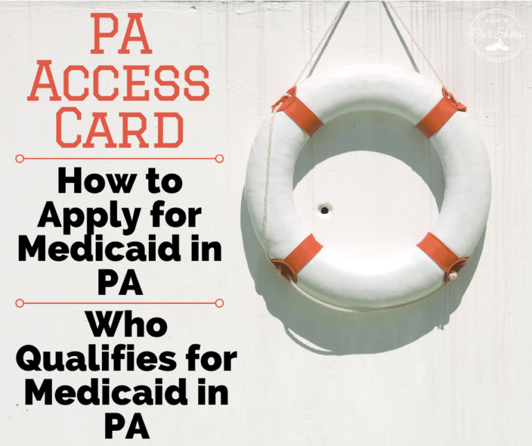PA Access Card   Medicaid for Disabled Children   Understanding the PA Loophole PH 95