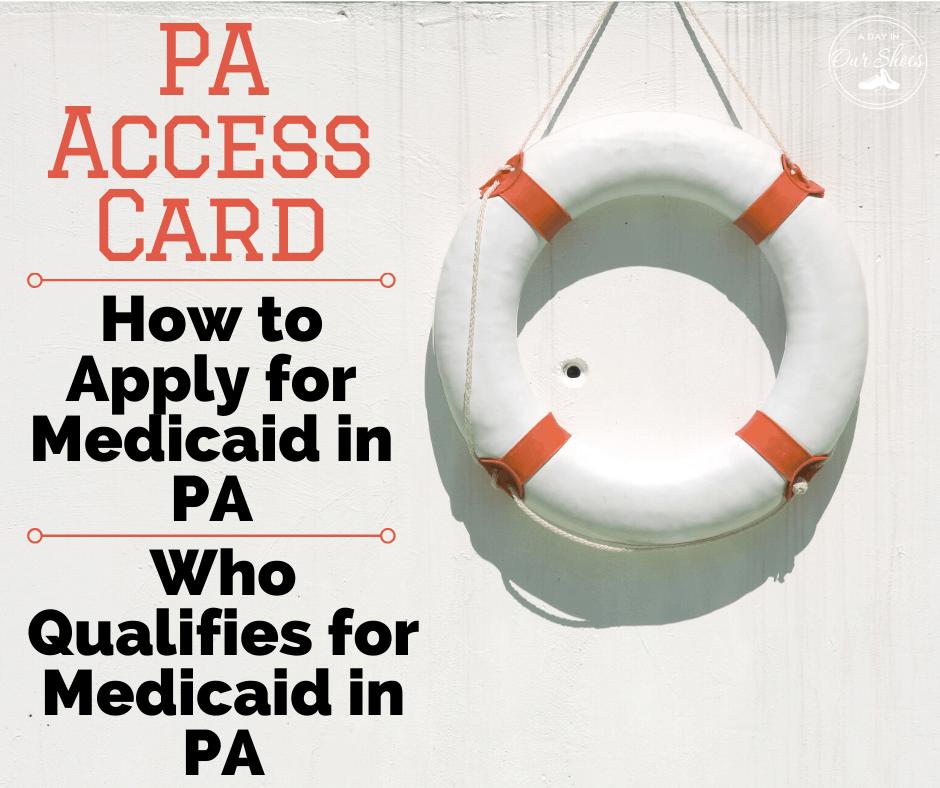 medical assistance Pennsylvania access card