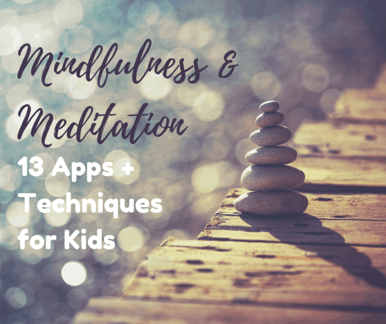 13 Meditation and Mindfulness Apps and Techniques for Kids, under $5.