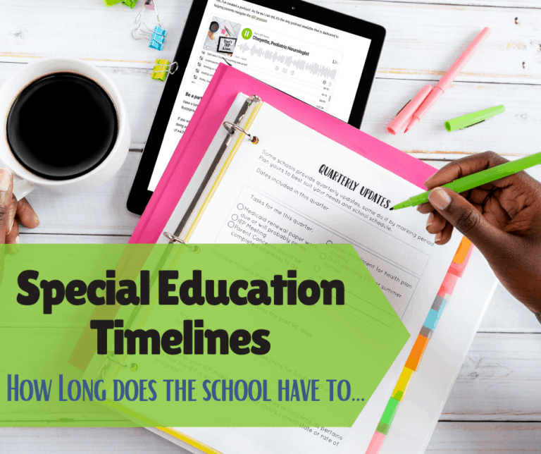 Special Education Timelines | When Should the School Respond to IEP Requests or Evals?