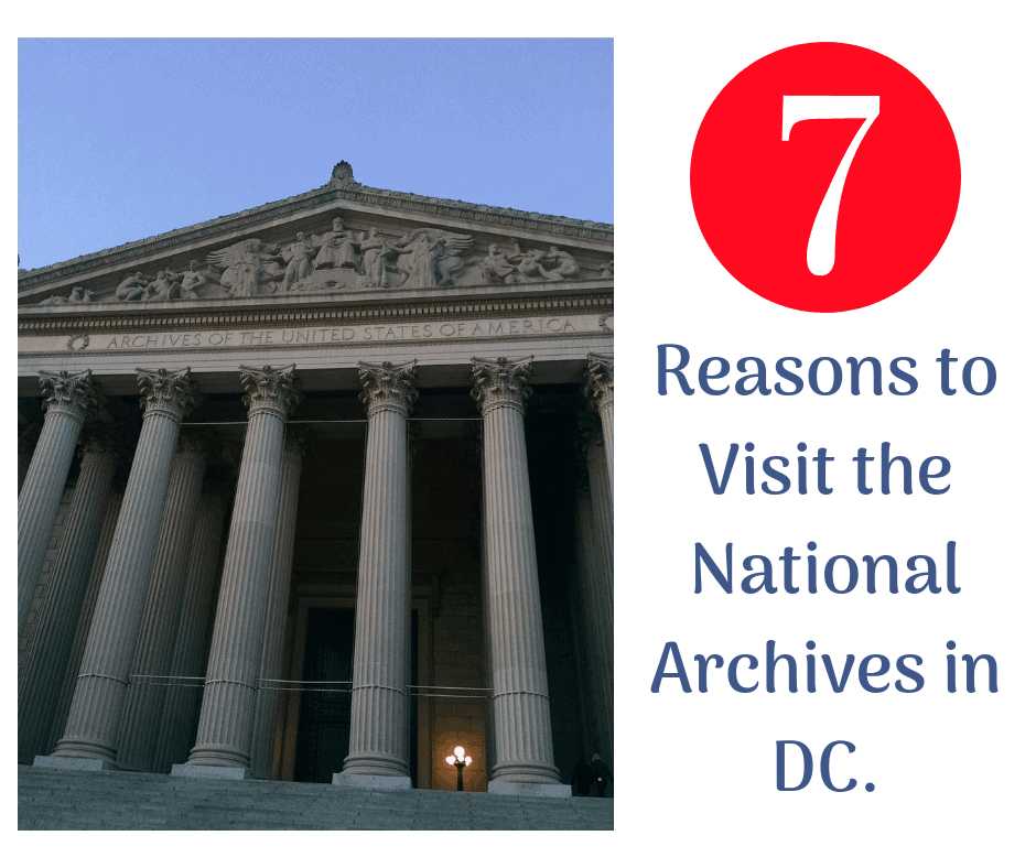 reasons to visit national archives dc close photo pf archives building