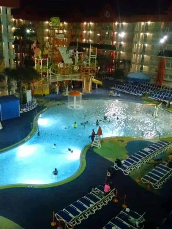 nickelodeon hotel pool