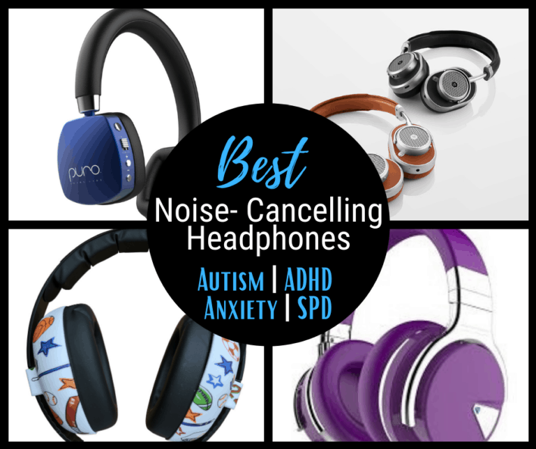 7 Best Noise Cancelling Headphones for Autism | ADHD | Anxiety