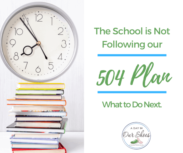 What to do if your School or Teacher is Violating the 504 Plan | 8 Action Items for Parents