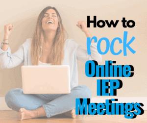 online iep meeting