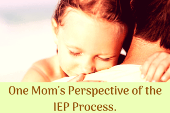 parent perspective IEP process