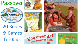 20 Passover Books and Games for kids.