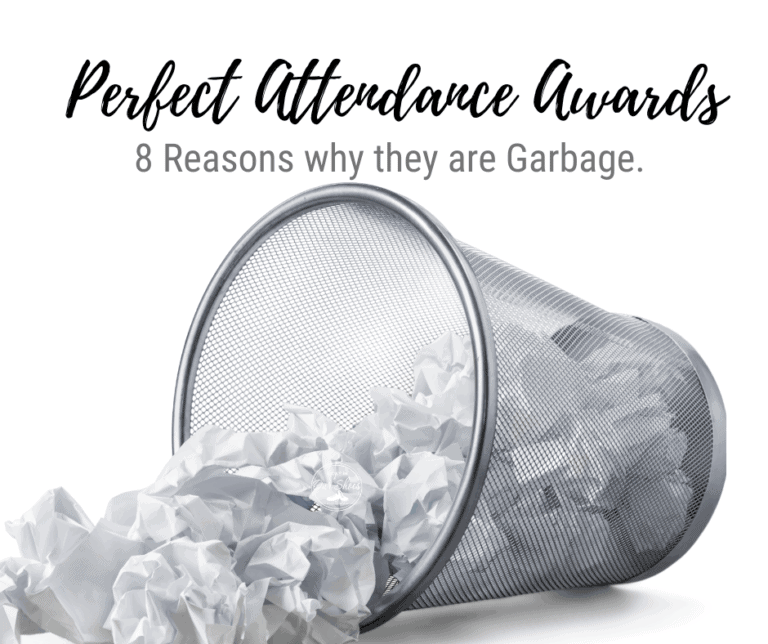Perfect Attendance Awards | 8 Reasons why they're Garbage.