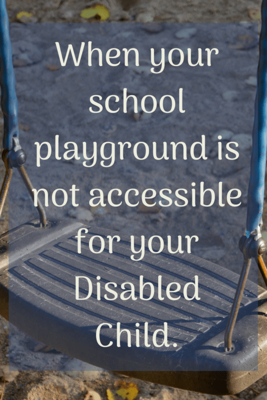 playground accessible disabled child OCR