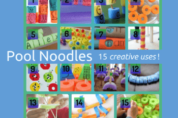 Pool Noodles: 15 fun and creative uses, besides swimming!