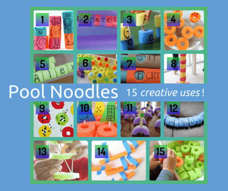 15 Clever Uses for Swimming Pool Noodles.