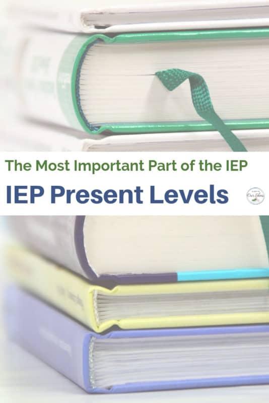 present levels plaafp