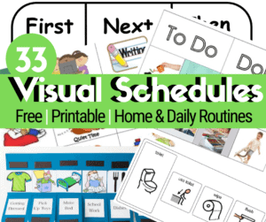 printable visual schedules