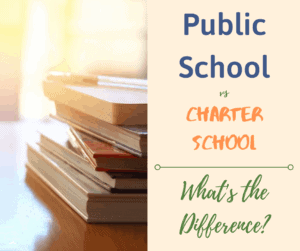 public school vs charter school