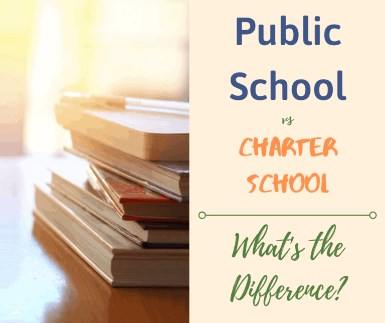 The Difference between Public Schools vs. Charter Schools; A Guide for Families.