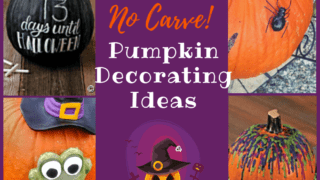7 Fun and Easy No-Carve Pumpkin Ideas | Decorations | Stickers