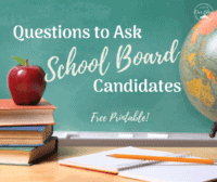 questions to ask school board candidates