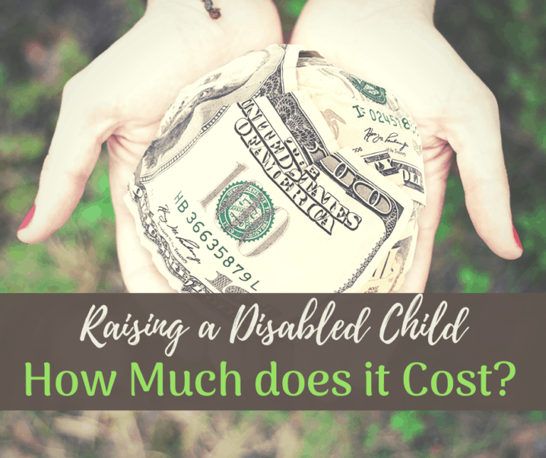 How Much Does It Cost To Raise A Child With A Disability?