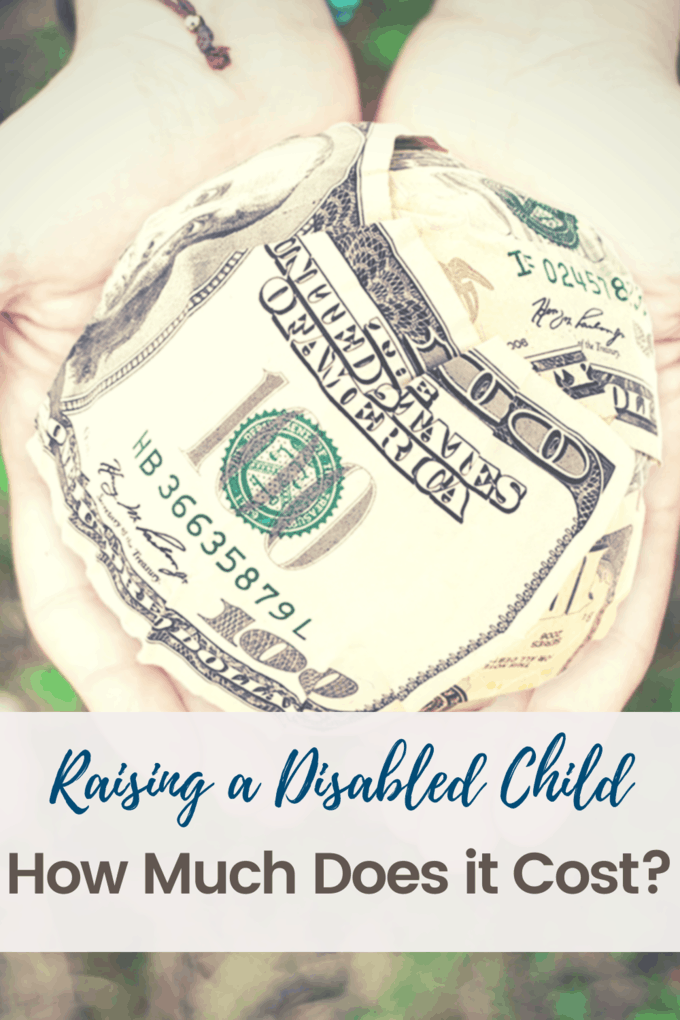 raising a disabled child cost