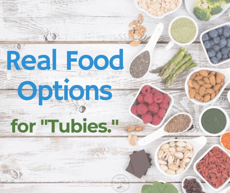 Alternatives to Tube Feeding Formulas | Real Food for G Tube Feeding