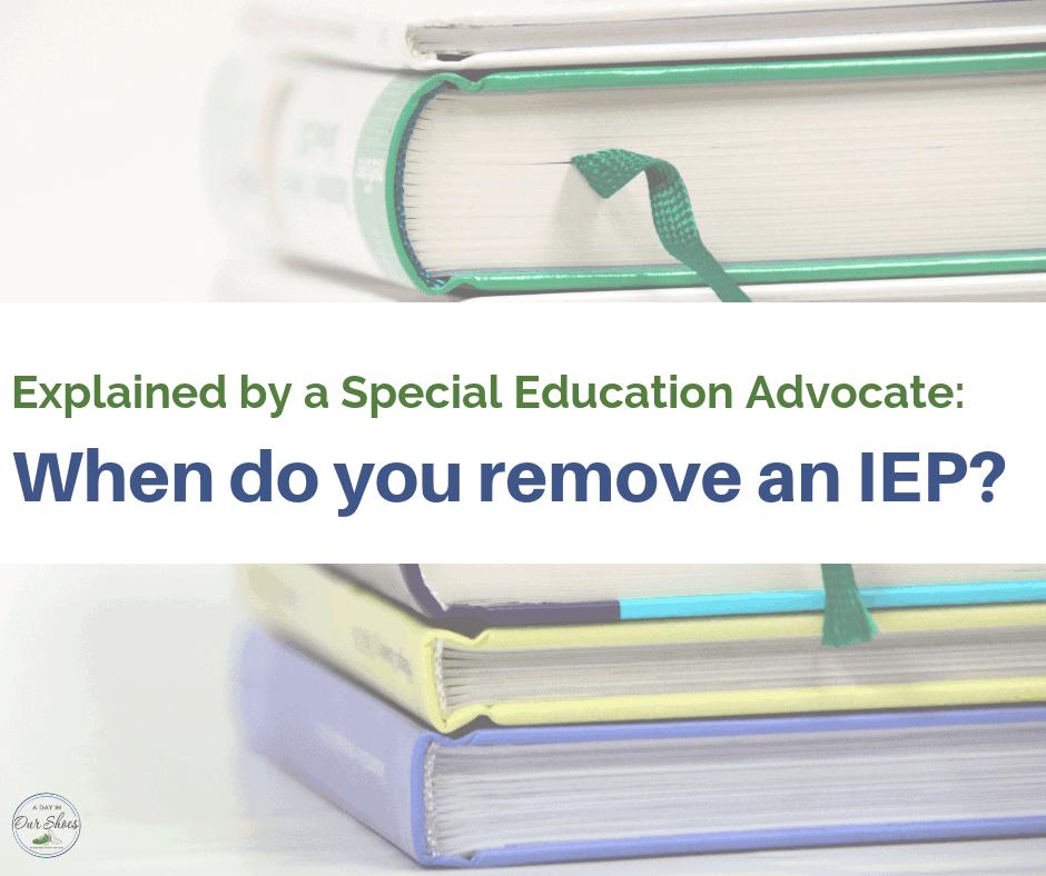 remove an iep