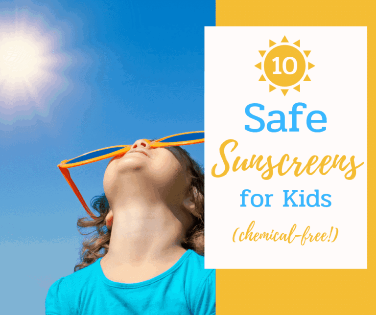 10 Best Sunscreens for Kids | Chemical-Free