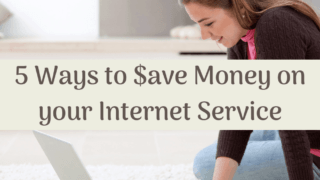5 Ways to Save Money on your Internet Service.