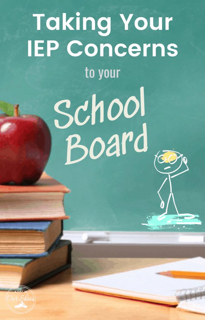 school board iep concerns