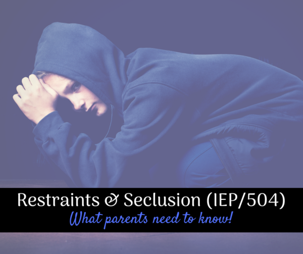 seclusion restraint