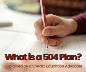 what is a 504 plan