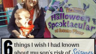 6 Things I wish I had been told about my son's Seizure Disorder Risks.