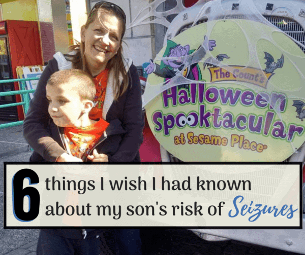 what I wished I would of know about sons risk of seizures mother holding son