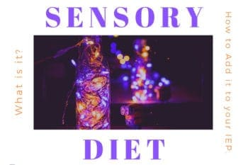 sensory diet and what is it how to get it in your IEP twinkle lights