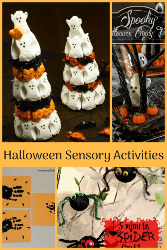 sensory halloween Activities