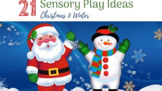 21 Christmas and Winter Sensory Play Ideas
