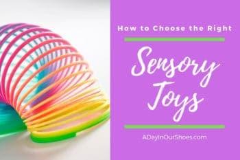 plastic rainbow colored slinky sensory toy