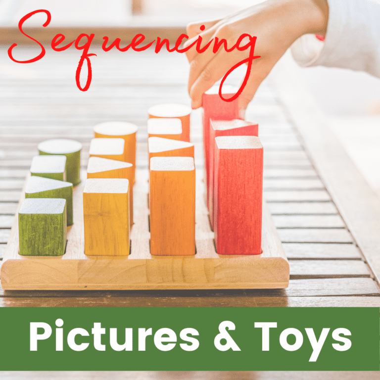 Sequencing Pictures | Toys | Developing Sequencing Skills