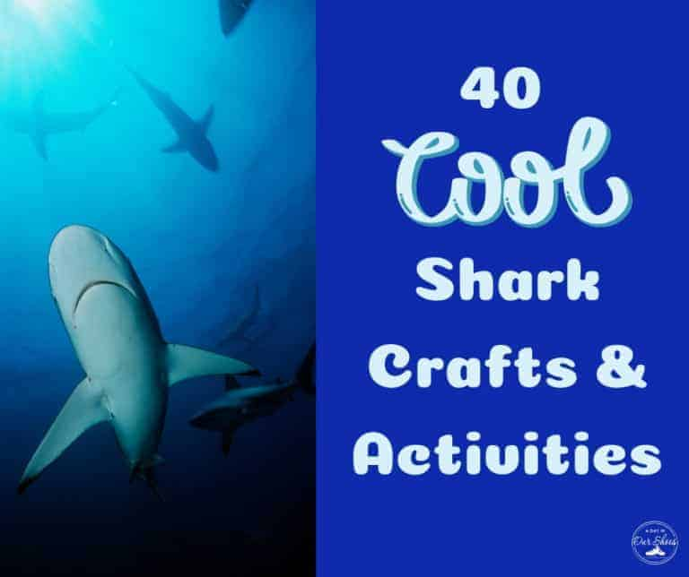 The 40 Coolest Shark Activities, Crafts and Games.