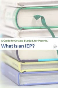 guide to getting started with an IEP book stack