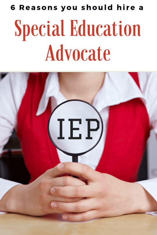 The Role Of Special Education Advocate >> 6 Reasons You Should Hire A Special Education Advocate