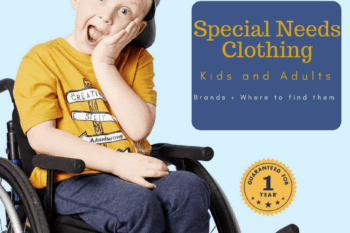 Where to find adaptive clothing for kids and adults with disabilities.