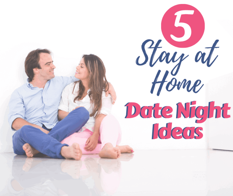 5 Stay-at-Home Date Night Ideas for Parents
