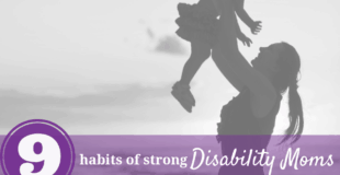 strong disability mom