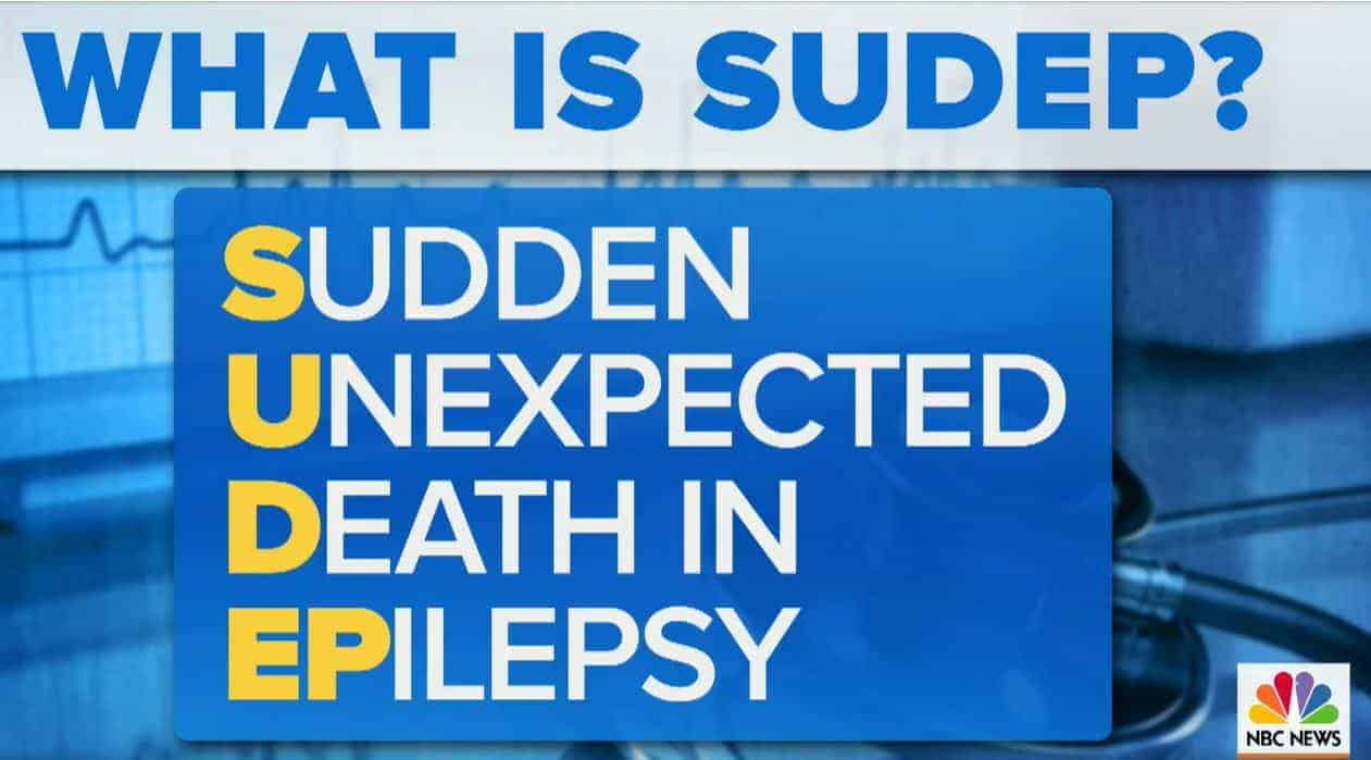 SUDEP. It's time to say the word.