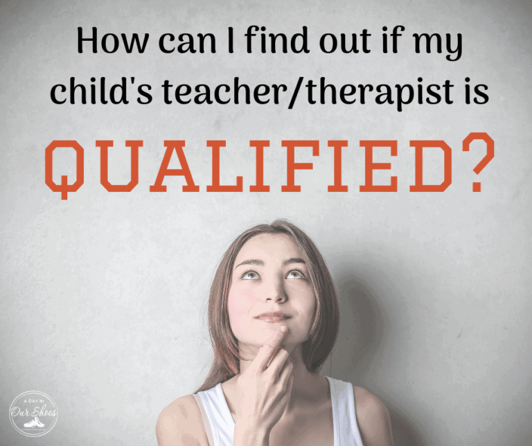 Is My Teacher or Therapist Qualified?  | Highly Qualified | HQT