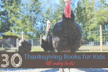 thanksgiving books for kids turkeys out walking together