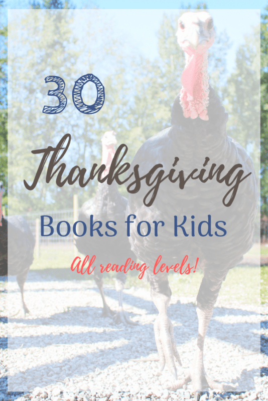 thanksgiving chapter books