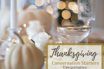 thanksgiving conversation starters